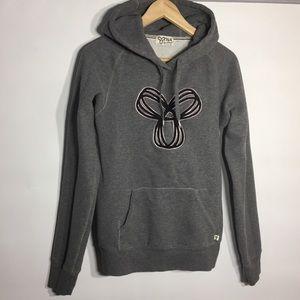 TNA grey classic hoodie